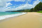 Laie Beach Park, aka Pounders,Oahu, Hawaii