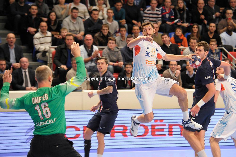 Dragan Gajic - 03.12.2014 - PSG / Montpellier - 12eme journee de D1<br />Photo : Andre Ferreira / Icon Sport