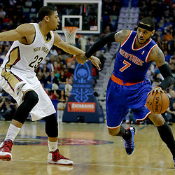 02-19-2014 New York Knicks at New Orleans Pelicans