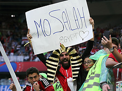 June 19, 2018 - St. Petersburg, Russia - 19 June 2018, Russia, St. Petersburg, FIFA World Cup 2018, First Round, Group A, First Matchday, Russia v Egypt. Fans (Credit Image: © Russian Look via ZUMA Wire)