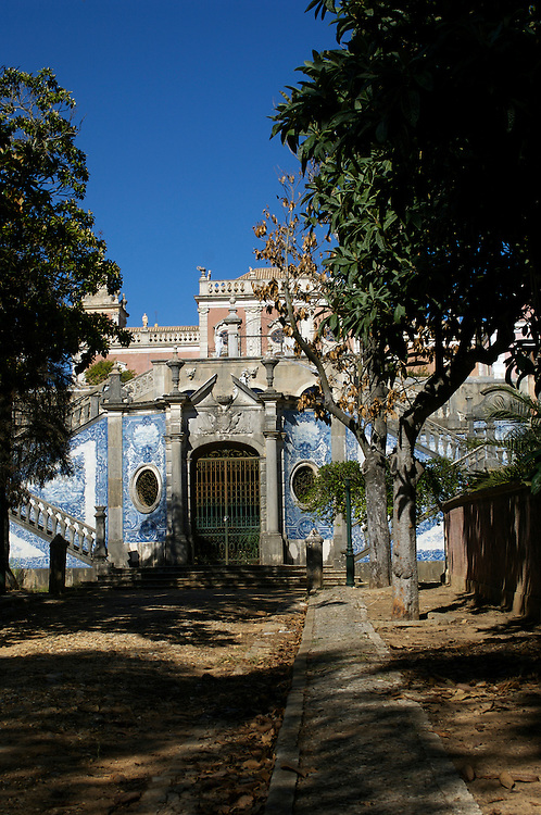 The old palace of Estoi on the Algarve, Portugal