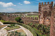 The Castle of Silves is a castle in the civil parish of Silves in the municipality of Silves in the Portuguese Algarve. Built between the 8th and 13th century, the castle is one of the best preserved of the Moorish fortifications in Portugal, the most important Moorish fortification resulting in its classification as a National Monument in 1910.