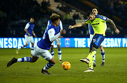 Bradley Johnson of Derby County - Mandatory by-line: Robbie Stephenson/JMP - 13/02/2018 - FOOTBALL - Hillsborough - Sheffield, England - Sheffield Wednesday v Derby County - Sky Bet Championship