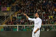 Andrea Preti in goal con dedica d'amore