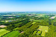 Nederland, Friesland, De Friese Meren, 07-05-2018; Gaasterland, Bremer Wildernis nabij buurtschap Nieuw Amerika. Staatsbosbeheer.<br /> <br /> luchtfoto (toeslag op standard tarieven);<br /> aerial photo (additional fee required);<br /> copyright foto/photo Siebe Swart