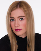Headshot for teen model and actress.