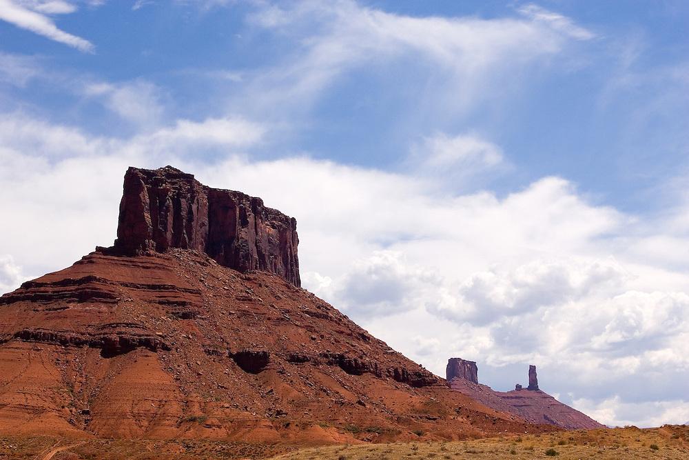 John Wayne country north east of Moab, Utah on July 28, 2006. August Miller