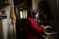 Razan Hasham (18) Syria og hendes mor.