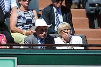 Jean GACHASSIN  - 06.06.2015 - Jour 14 - Finale Femmes - Roland Garros 2015<br />Photo : Nolwenn Le Gouic / Icon Sport