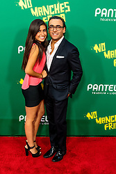 LOS ANGELES, CA - AUGUST 31 Actor Adal Ramones and his daughter Pola Ramonoes attend the red carpet premiere of the film No Manches Frida the the Regal Cinemas in downtown Los Angeles on Tuesday night 2016 August 31. Byline, credit, TV usage, web usage or linkback must read SILVEXPHOTO.COM. Failure to byline correctly will incur double the agreed fee. Tel: +1 714 504 6870.