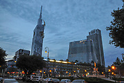 Butami cityscape at night