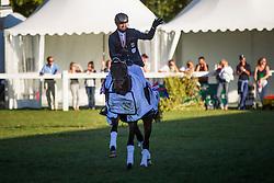 Jung Michael (GER) - Star Connection<br /> Jumping 6 years old horses<br /> Mondial du Lion - Le Lion d'Angers 2014<br /> © Dirk Caremans<br /> 19/10/14