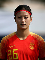 International Women's Friendly Matchs 2019 / <br /> Womens's Algarve Cup Tournament 2019 - <br /> China v Norway 1-3 ( Municipal Stadium - Albufeira,Portugal ) - <br /> WANG LINLIN of China