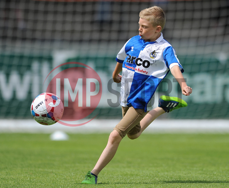Mascot - Photo mandatory by-line: Dougie Allward/JMP - Mobile: 07966 386802 - 18/07/2015 - SPORT - Football - Bristol - Memorial Stadium - Pre-Season Friendly