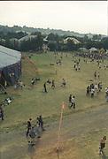 Ravers, Glastonbury, 1994.