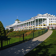 &quot;Grand Hotel Mackinac Island&quot;<br /> <br /> Enjoy a beautiful summer day at the Grand Hotel on Mackinac Island! A wonderful and historic piece of Michigan history!!