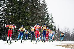 Gjoeran Tefre (NOR), Sindre Bjoernestad Skar (NOR) during the man team sprint race at FIS Cross Country World Cup Planica 2019, on December 22, 2019 at Planica, Slovenia. Photo By Peter Podobnik / Sportida