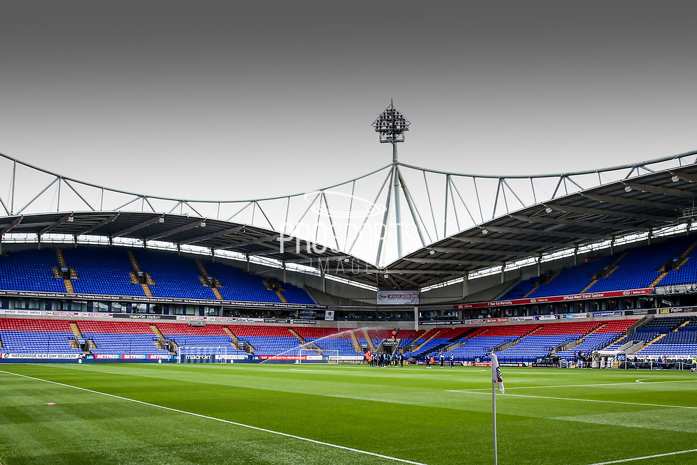 Stadium shot during the EFL Sky Bet Championship match between Bolton Wanderers and Leeds United at the Macron Stadium, Bolton, England on 6 August 2017. Photo by Simon Davies.