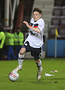 Dundee's Nicky Riley  - Hearts v Dundee in the Clydesdale Bank, Scottish Premier League at Tynecastle.. - © David Young - www.davidyoungphoto.co.uk - email: davidyoungphoto@gmail.com