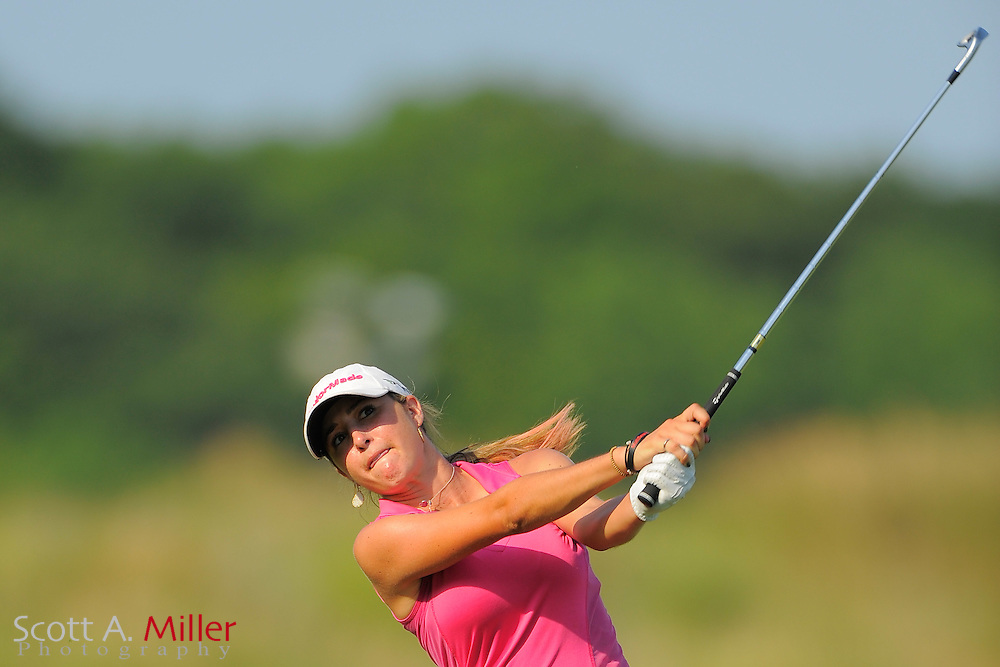 Jaye Marie Green during the first round of the US Women's Open at Blackwolf Run on July 5, 2012 in Kohler, Wisconsin. ..©2012 Scott A. Miller