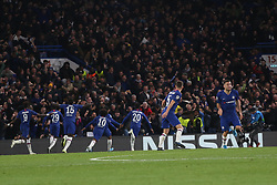 November 5, 2019: AMSTERDAM, NETHERLANDS - OCTOBER 22, 2019: Chelsea squad pictured during the 2019/20 UEFA Champions League Group H game between Chelsea FC (England) and AFC Ajax (Netherlands) at Stamford Bridge. (Credit Image: © Federico Guerra Maranesi/ZUMA Wire)