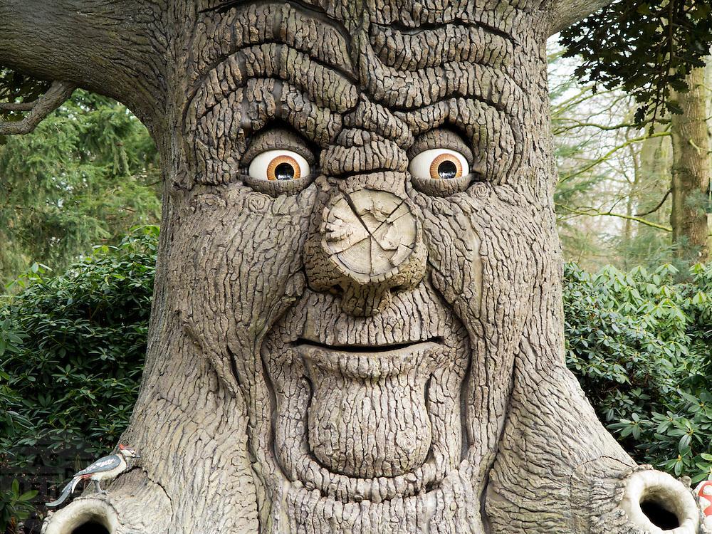 Sprookjesboom in de Efteling.<br /> <br /> A fairy tale tree in the Efteling.