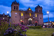 Plaza Mayor, Cuzco, Peru.
