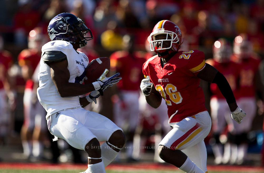 Images from Saturday's college football game between the Abilene Christian Wildcats and the Pittsburg State Gorillas at Carnie Smith Stadium on October 5, 2013 in Pittsburg, Kansas. (David Welker)