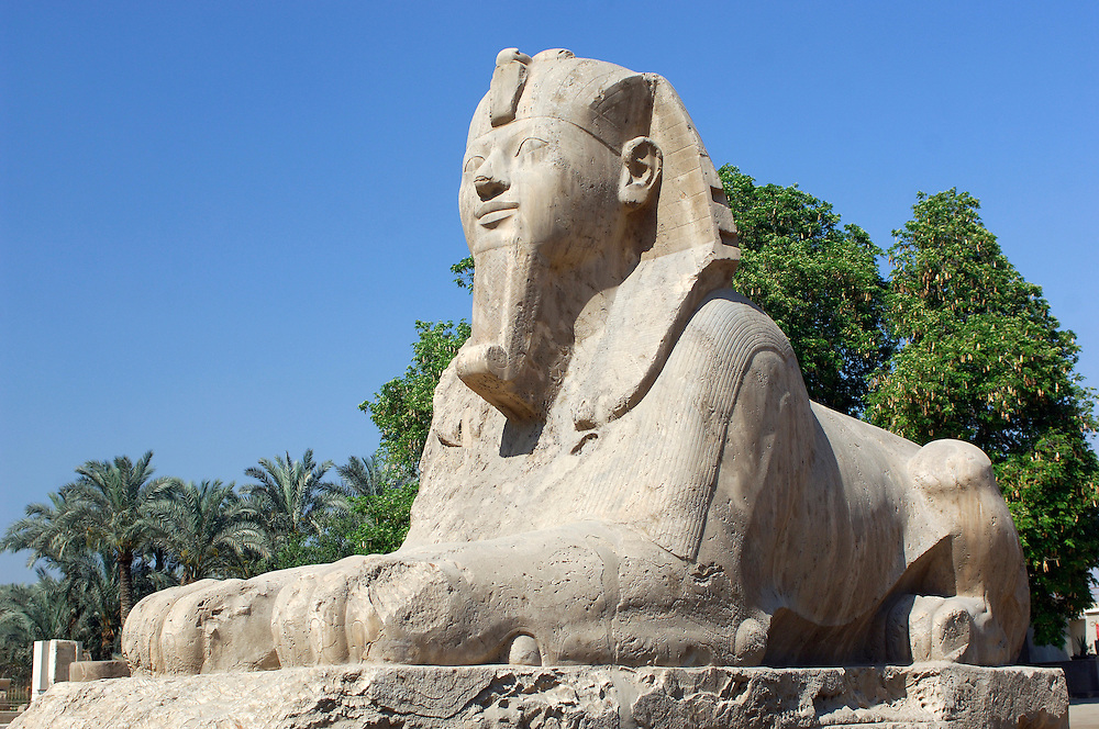 Ramses II Statue, Memphis Museum, Mit-Rahina, Cairo, Egypt