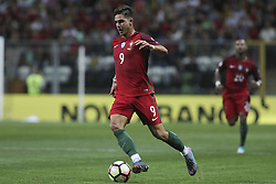 August 31, 2017 - Porto, Porto, Portugal - Portugal's forward Andre Silva during the FIFA World Cup Russia 2018 qualifier match between Portugal and Faroe Islands at Bessa Sec XXI Stadium on August 31, 2017 in Porto, Portugal. (Credit Image: © Dpi/NurPhoto via ZUMA Press)