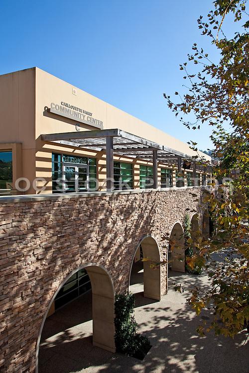 Caillouette Family Community Center at Sage Hill School in Newport Beach California