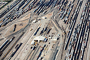 Rail yard outside of Houston