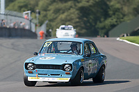 #57 Joe GOMM Ford Escort Mk1 BDA during HSCC Dunlop Saloon Car Cup  as part of the HSCC Oulton Park Gold Cup  at Oulton Park, Little Budworth, Cheshire, United Kingdom. August 25 2019. World Copyright Peter Taylor/PSP. Copy of publication required for printed pictures.