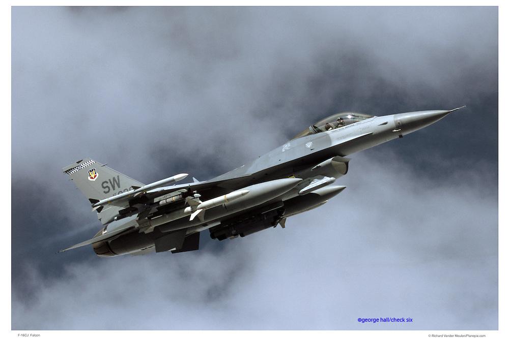 F-16CJ air-to-air