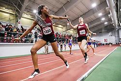 womens 4x400 relay, heat 5, Rider<br /> BU John Terrier Classic <br /> Indoor Track & Field Meet