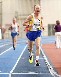 USATF Masters Indoor Championship, men's mile, 65-69 age-group race,