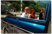 Kate Reardon and Janine di Giovanni. Capri, May 1997, © Copyright Photograph by Dafydd Jones 66 Stockwell Park Rd. London SW9 0DA Tel 020 7733 0108 www.dafjones.com