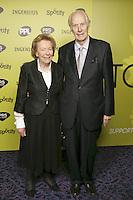 Sir George Martin CBE and wife Judith
