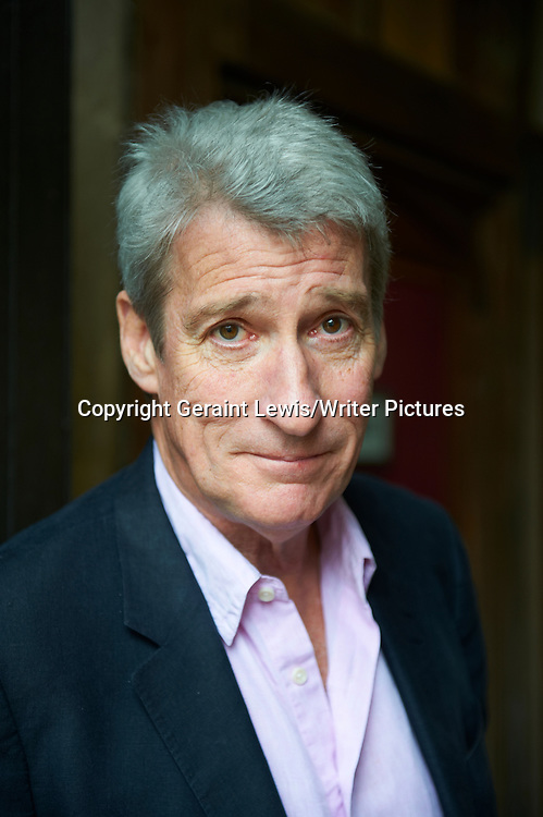 Jeremy Paxman, broadcaster and writer at The Oxford Literary Festival at Christchurch College Oxford. Taken 30th March 2012<br /> <br /> Credit Geraint Lewis/Writer Pictures<br /> <br /> WORLD RIGHTS