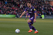 Liam Ridehalgh (3) during the EFL Sky Bet League 1 match between Lincoln City and Tranmere Rovers at Sincil Bank, Lincoln, United Kingdom on 14 December 2019.