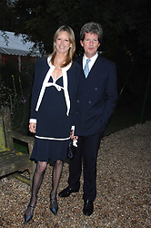GUY & FIONA SANGSTER at the annual Cartier Chelsea Flower Show dinner held at the Chelsea Physic Garden on 21st May 2007.<br /><br />NON EXCLUSIVE - WORLD RIGHTS