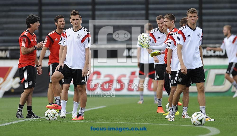 Germany training at Maracana Stadium, Rio de Janeiro<br /> Picture by Stefano Gnech/Focus Images Ltd +39 333 1641678<br /> 12/07/2014