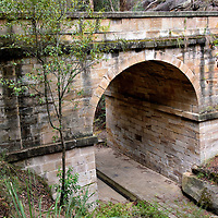 Lennox Bridge near Glenbrook in Blue Mountains, Australia<br />