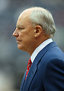 Houston Texans Founder, Chairman and Chief Executive Officer Robert C. McNair looks on prior to the NFL football game against the Seattle Seahawks on December 13, 2009 in Houston, Texas. The Texans won the game 34-7. ©Paul Anthony Spinelli