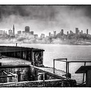 Photo taken exploring San Francisco's Alcatraz Island.