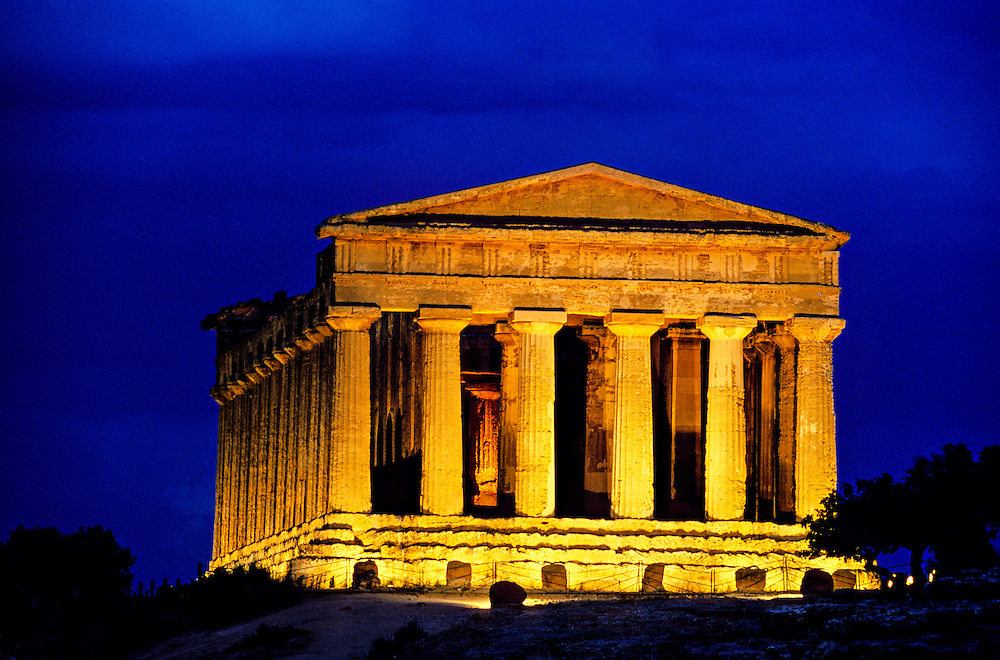 Temple of Concord (Tempio di Concordia), Valley of the Temples (Valle di Templi), Agrigento, Sicily, Italy