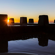 Sunrise over Coogee ocean pool, Sydney<br /> 29/5/2016<br /> ph. Andrea Francolini