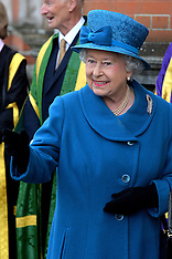 MAR 14 2014 The  Queen at Royal Holloway University