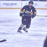 4th year defender, Tamara McVannel (23) of the Regina Cougars during the Women's Hockey Away Game on Fri Jan 11 at University of Saskatoon. Credit: Arthur Ward/Arthur Images