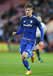 Joseph Mason of Cardiff City - Mandatory by-line: Paul Terry/JMP - 07966386802 - 31/07/2015 - SPORT - FOOTBALL - Bournemouth,England - Dean Court - AFC Bournemouth v Cardiff City - Pre-Season Friendly